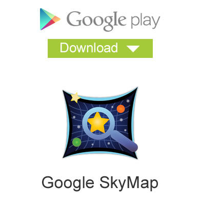 Google Play - Baixar Google Sky Map - Android