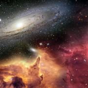 Visão do Universo espaço