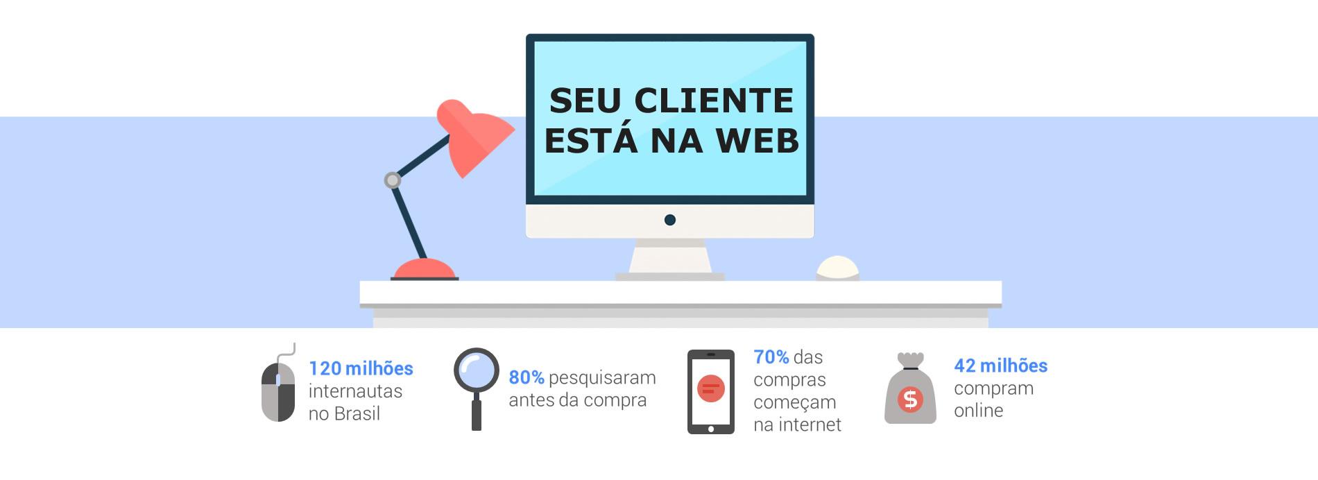 Seu cliente está na Web